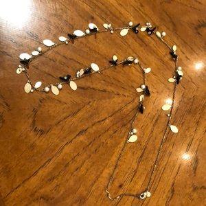 Jcrew long statement necklace.